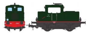 REE MB-050S MOYSE 32 TDE Origin, SNCF Green 306, Old lamps - DCC Sound